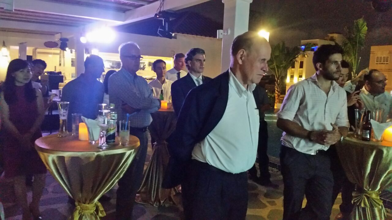EuroCham members and guests at the EuroCham Networking