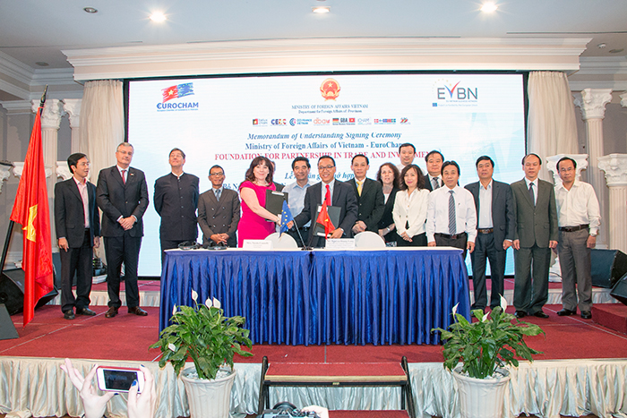 Joint-Forum and Memorandum of Understanding Signing Ceremony Ministry of Foreign Affairs of Vietnam – EuroCham and EVBN: FOUNDATION FOR PARTNERSHIP IN TRADE AND INVESTMENT
